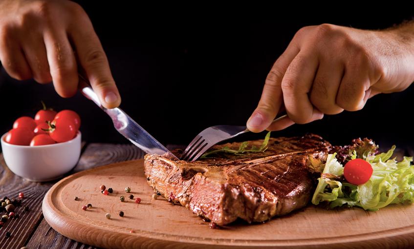 Filete de carne roja